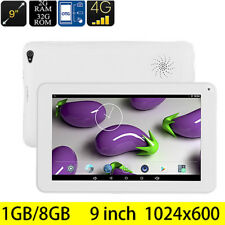 "9"" Inch Google Android5.1 8GB Quad Core Capacitive Screen Bluetooth WIFI Tablet"