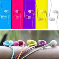 For Samsung Galaxy S4 i9500 3.5mm Handsfree Earphone W/Volume Control  5 Colors