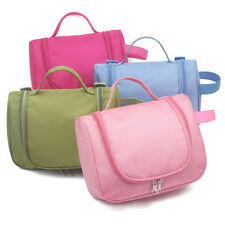 Multifunction Travel Cosmetic Bag Makeup Case Pouch Toiletry Organizer 4Colors