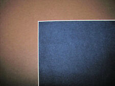 Brown Pre-Cut 11x14 or 16x20  Mat Matting for Picture Framing of Photos Art
