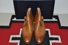 Ralph Lauren Purple Label Gaziano & Girling Hand Burnished Ankle Boots