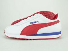 Puma Turin Jr 36091412 White Barbados Cherry Synthetic Casual Shoes Medium Youth