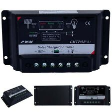 Upgrade Version 5/10/15/20/30A 12V/24V Autoswitch PWM Solar Charge Controller EF