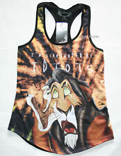 Disney The Lion King I'm Surrounded by Idiots SCAR Tank Top Juniors XS-S NWT