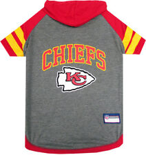 KANSAS CITY CHIEFS Tee Hoodie NFL Dog Pets First (all sizes)