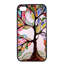 Tree of Life Design Pattern Hard Back Case Cover Skin for Apple iPhone 4 4S 5 5S