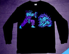 New Long Sleeve Ryu Blanka tshirt 8 aqua jordan blk air grape cajmear sz M L XL