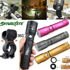 Adjustable Focus Flashlight Zoomable 12000 Lumens 3mode XM-L T6 LED 18650 Torch<