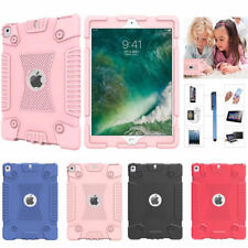 Soft Silicone Case Cover For Apple iPad 5th Gen 2017 9.7 Inch Air 1 2 Pro 9.7""