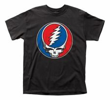 NEW Officially Licensed Grateful Dead Steal  Your Face T-Shirt Thin Rock
