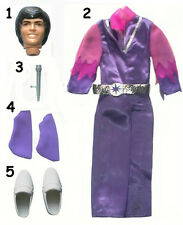 "1977 DONNY & MARIE OSMOND 11"" mattel doll -- DRESS & JUMPSUIT & SOCKS"