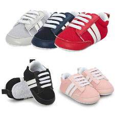 Toddler Baby Boys Girl Soft Sole Crib Shoes Sports Sneakers Anti-slip Prewalkers