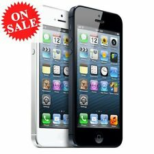 New in Box APPLE iPhone 5 Black White 4G GSM Factory Unlocked Smartphone GG44
