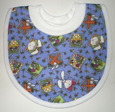 Handcrafted Easter Print Pull Over Baby Bib by Bibs, Etc.