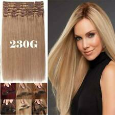 "MAGE THICK Clip in Human Remy Hair Extensions 22""20""18"" Long AU Clearance Sale"