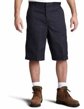 Dickies Men's 13 Inch Loose Fit Multi-Pocket Work Short, Dark Brown, 32