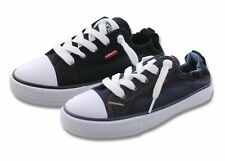 Levis Stan G Denim Sneakers Girls Athletic Shoes  Little Kids Black Blue Casual