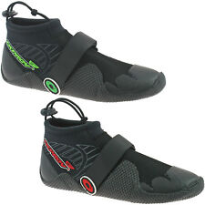 MENS OSPREY NEOPRENE WETSUIT SHOES BOOTS SIZE UK 5 - 11 BEACH GREEN RED REEF