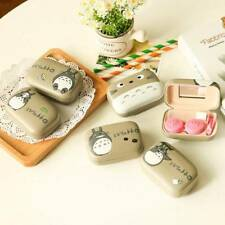 Portable Cute Contact Lens Holder Storage Soaking Box Case Container Travel