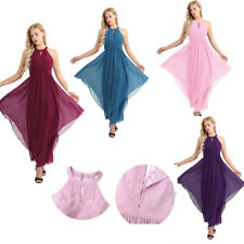 Women Formal Dress Wedding Evening Halter Gown Party Cocktail Prom Bridesmaid AU