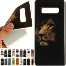 Protective Skin TPU Rubber Soft Cover Case Back For Samsung Galaxy Note 8/N950