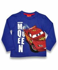 Disney Pixar Cars Lightning McQueen Long Sleeve Top - Various Sizes - Box6115