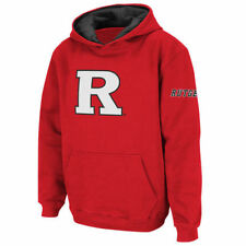Rutgers Scarlet Knights Stadium Athletic Youth Biglogop/Ohood Sweatshirts - Red
