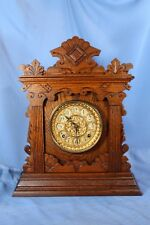 "ANSONIA CABINET MANTEL ANTIQUE CLOCK ""VALDARA"" LOOKS & RUNS GREAT 100% ORIGINAL"