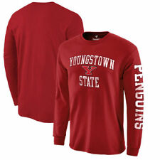 Youngstown State Penguins Fanatics Branded Distressed Arch Over Logo Long Sleeve