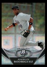 ADERLIN RODRIGUEZ METS ROOKIE CHROME XFRACTOR RC 2011 BOWMAN PLATINUM PROSPECTS