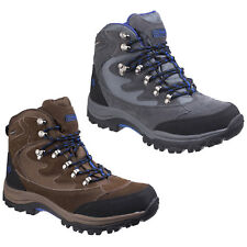 Cotswold Oxerton Hiking Boot Mens Waterproof Leather Lace Up Walking Hi Tops