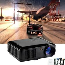 3500lumens LED HD 1080P Wired Manual Projector Home Theater USB TV 3D VGA/HDMI