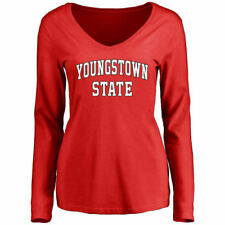 Youngstown State Penguins Women's Everyday Long Sleeve T-Shirt - Red