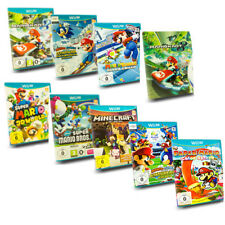 Wii U Game Mario Kart 8 Party 10 Mario & Sonic NEW Super Mario Bros Mario Maker