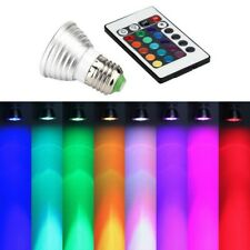 E27 RGB LED 16Color Multicolor Changing Party Disco Lamp Light Bulb IR Remote #K