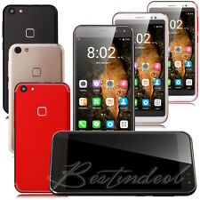 "5.0"" Unlocked Cell Phone Android 7.0 Quad Core Dual SIM 3G WIFI GPS Smartphone"