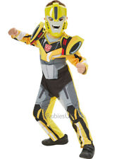Bumblebee Ages 3-8 Deluxe Boys Transformers Fancy Dress Superhero Kids Costume