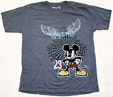 NEW Mickey Mouse 28 Legend Grey TEE T-SHIRT DISNEY STORE ADULT Mens XL