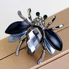 Vintage Insect Brooches Fly Pins Corsages Scarf Clips in Unisex Women&Men