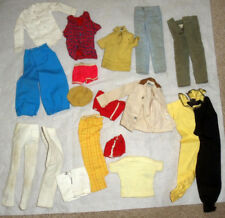 "1960-70s BARBIE 12"" mattel doll -- KEN -- SHIRTS PANTS SHOES SOCKS SHORTS JACKET"