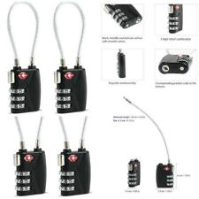 1 Set TSA Resettable 3 Digit Combination Travel Luggage Suitcase Lock Padlock L