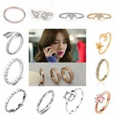 Fashion Heart Cat Adjustable Midi Arrow Knuckle Above Finger Tip Rings Band Gift
