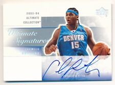 CARMELO ANTHONY 2003/04 UD ULTIMATE COLLECTION RC ROOKIE AUTOGRAPH SP AUTO MINT