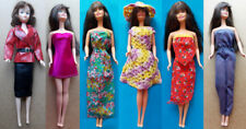 "1970s BARBIE 11"" mattel doll -- DRESSES SHOES STOCKINGS SUNGLASSES"