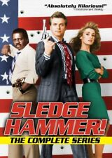 SLEDGE HAMMER THE COMPLETE SERIES New Sealed 5 DVD Set Sledgehammer