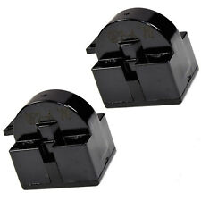 2-Pack HQRP QP2-4.7 4.7 Ohm 1-Pin PTC Start Relay for Danby Centers / Coolers