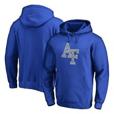 Air Force Falcons Fanatics Branded Static Logo Pullover Hoodie - Royal