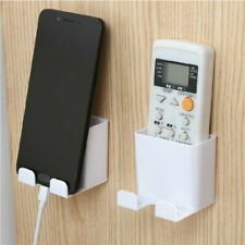 Air Conditioner Remote Control Mobile Phone Holder Case Wall Mount Storage Box