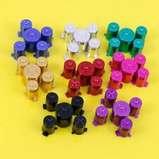 8 Sets Metal ABXY with Guide Buttons 9mm Bullet Sytle for XBox 360 Controller