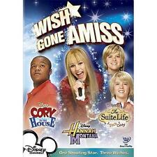 Wish Gone Amiss DVD Hannah Montana, Cory in the House, Suite life